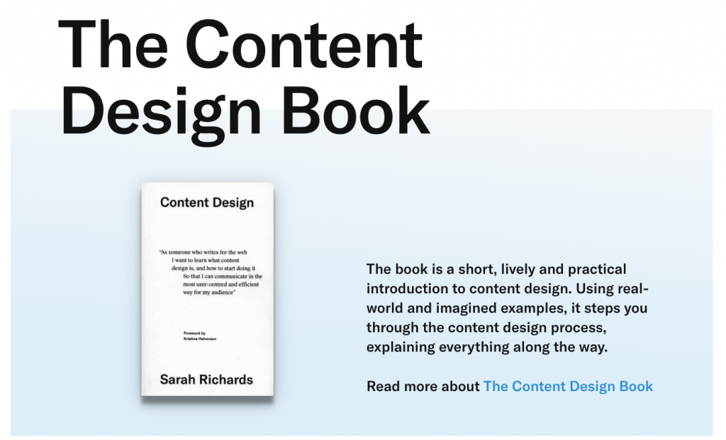 screenshot from the page of the online store where you can get the book, the front of the book is visible with a short presentation